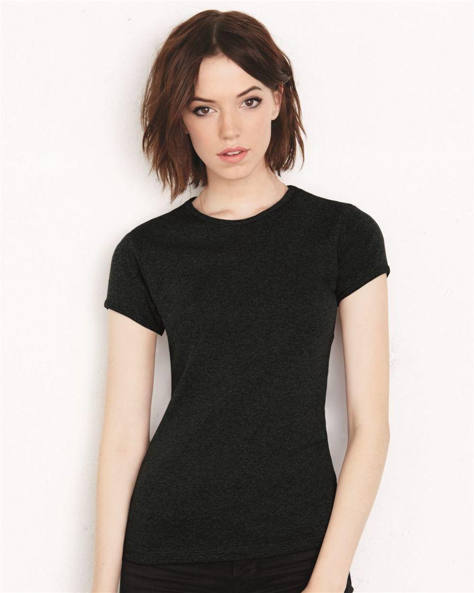 5049741ec7da BELLA 1001 Womens Crew Neck T-shirt