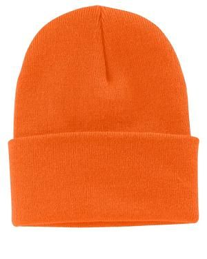 ... Port   Company CP90 Knit Beanie Neon Orange ... ca858146dc4