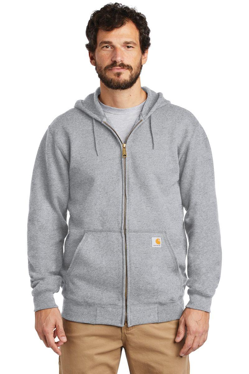 Several Colors NEW K122 Carhartt Men/'s Midweight Hooded Zip Front Sweatshirt