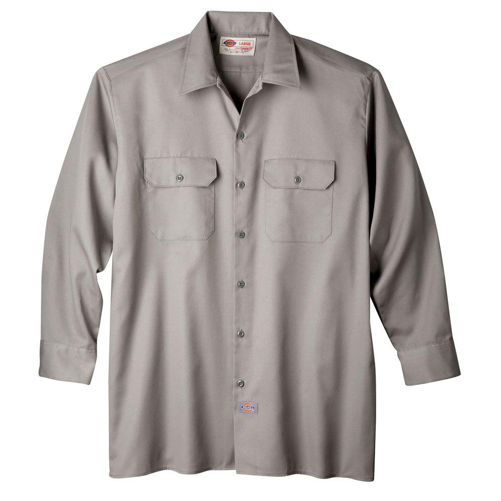 01ff35553315 574 Dickies Long Sleeve Work Shirt