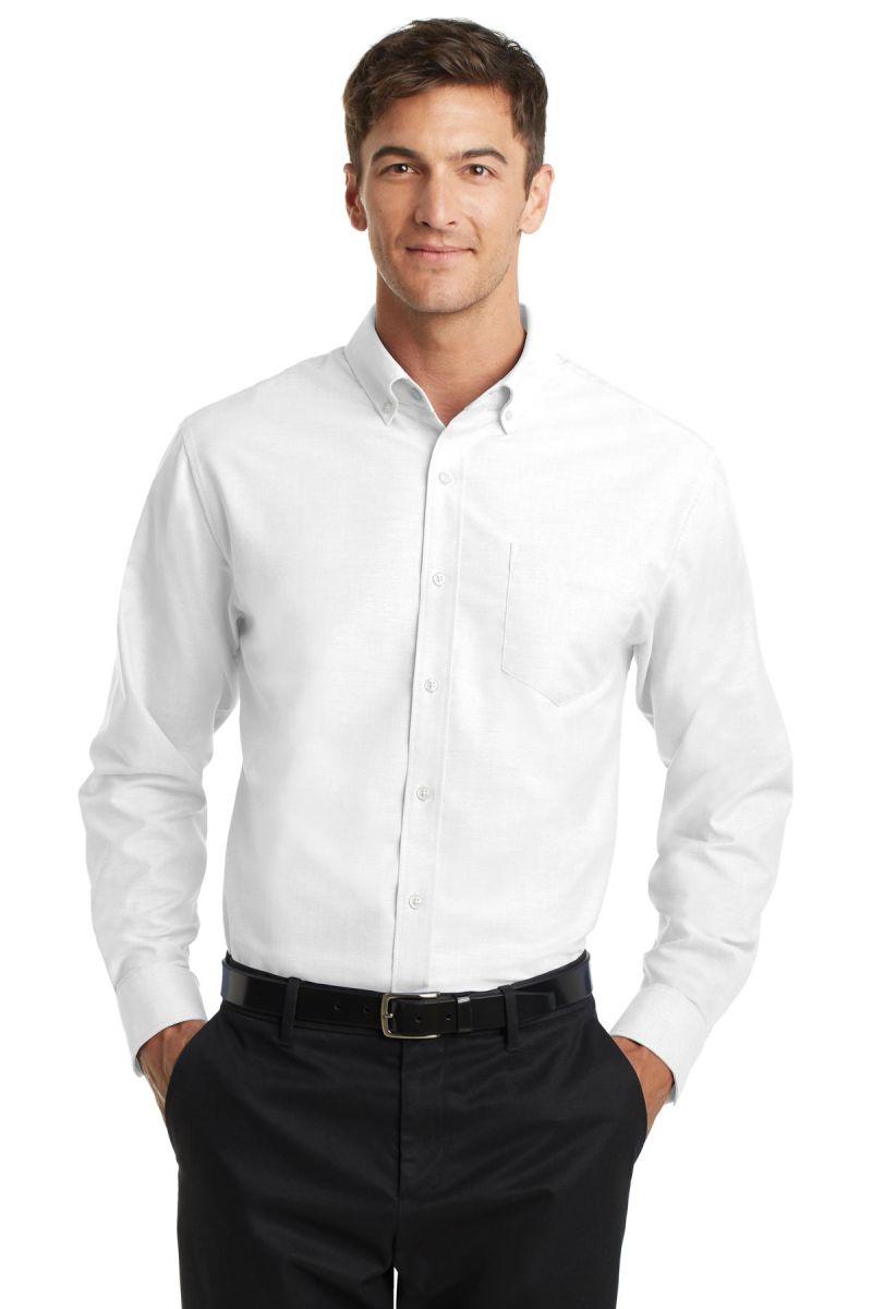 14c6c3c91 ... Port Authority S658 SuperPro Oxford Shirt ...