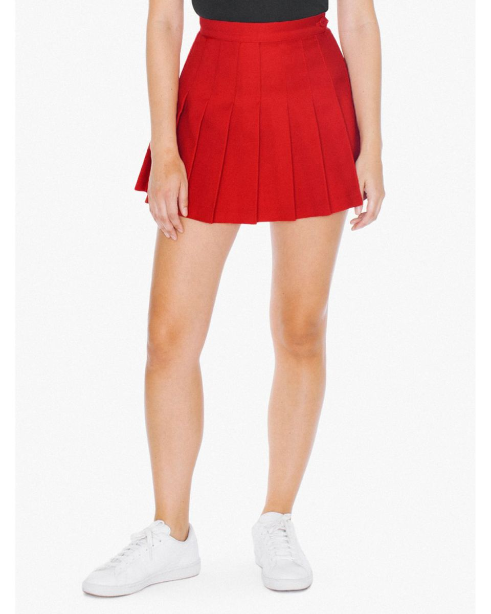 American Apparel AGB300W Ladies' Tennis Skirt American Beauty