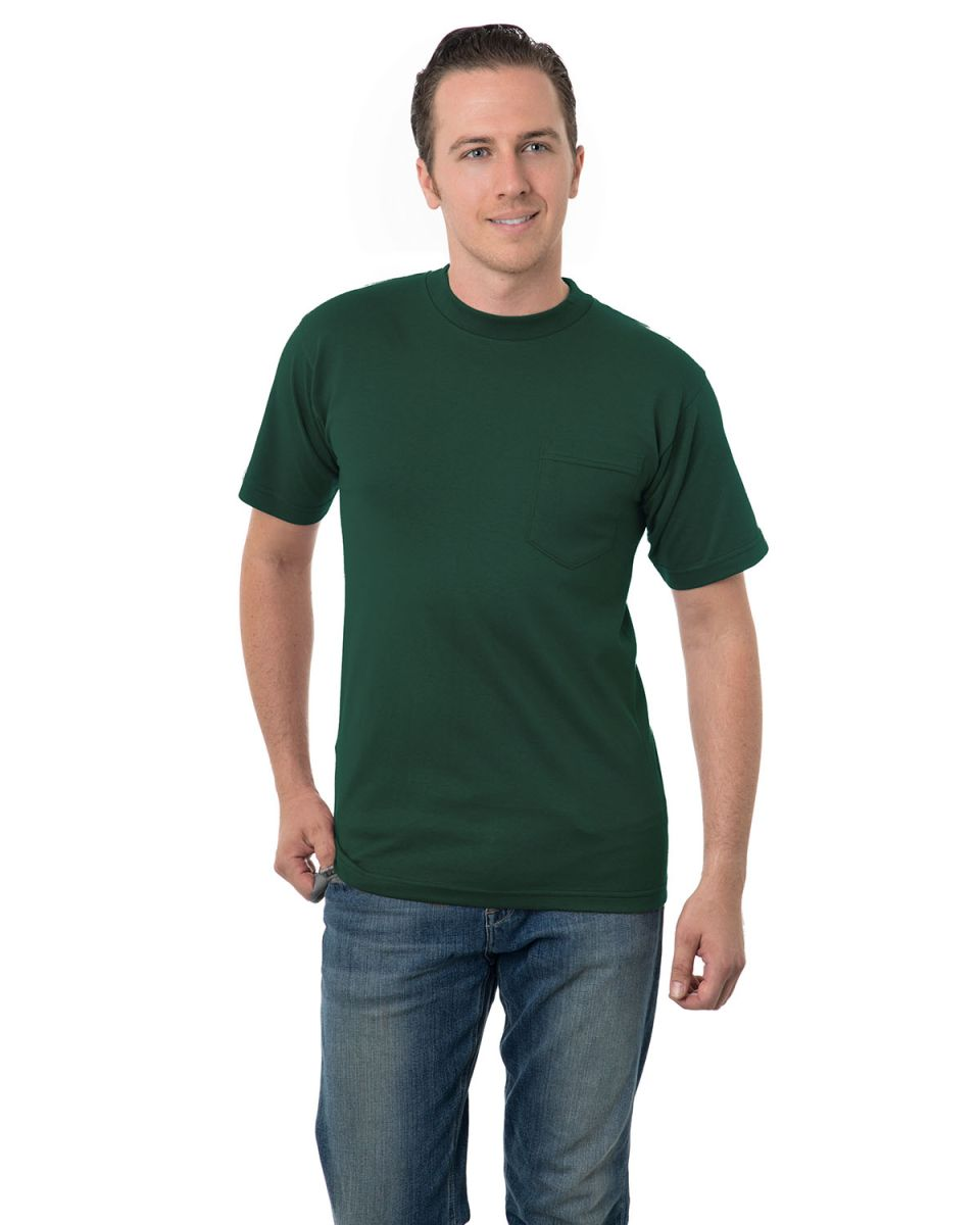 Bayside Adult Union Made Pocket Tee