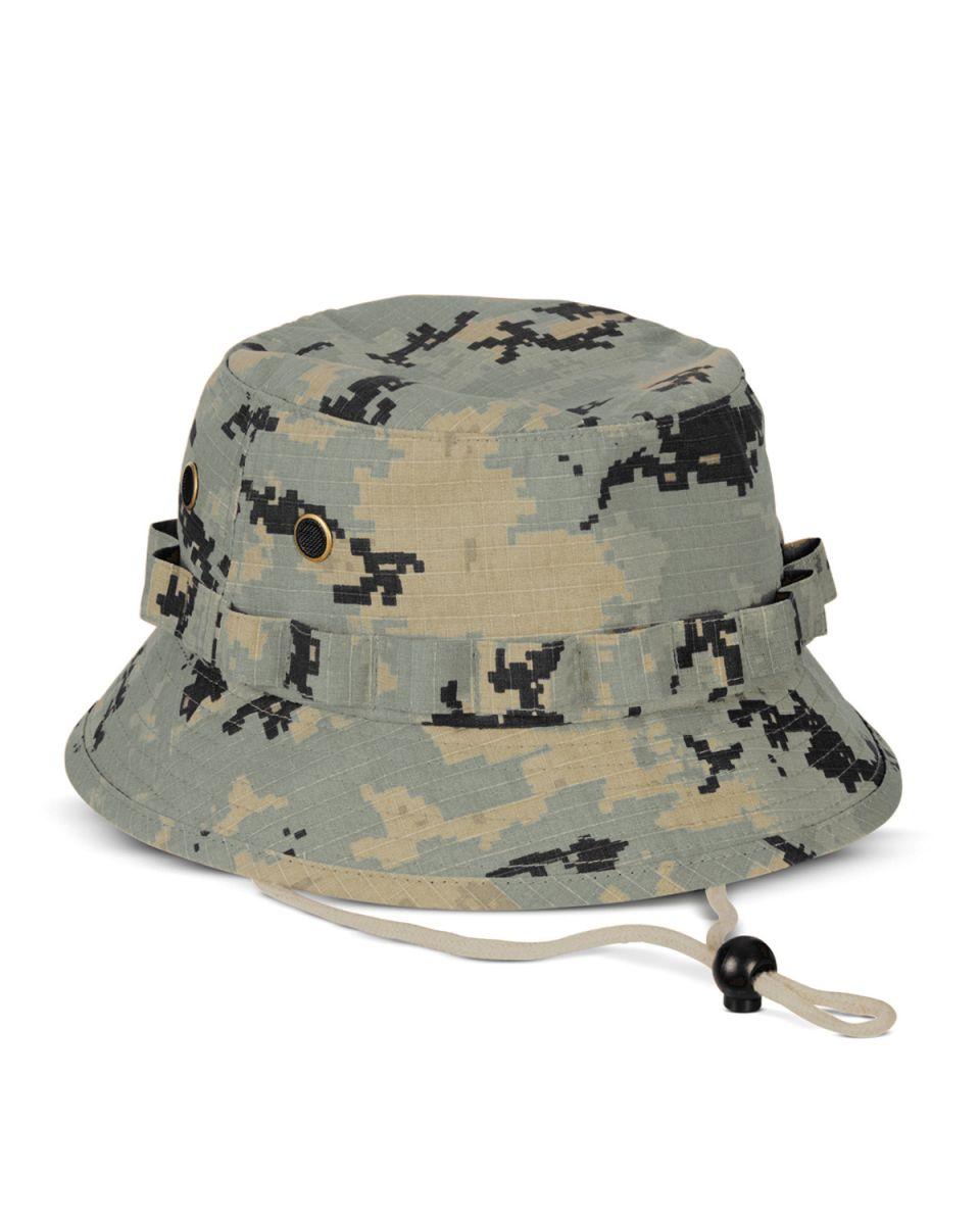 48078e89b5a BA547 Big Accessories Boonie Hat GREEN CAMO