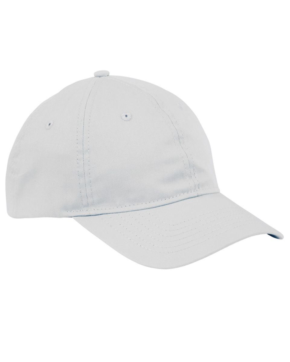 Big Accessories BX880 6-Panel Unstructured Hat WHITE 8133be34dd4f