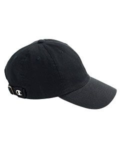 new concept 43b84 db705 ... sale c4001 champion logo brushed twill dad hat black e84d3 2c357