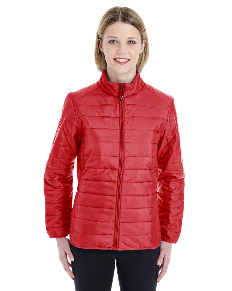 4b61bc44dae CE700W Ash City - Core 365 Ladies' Prevail Packable Puffer
