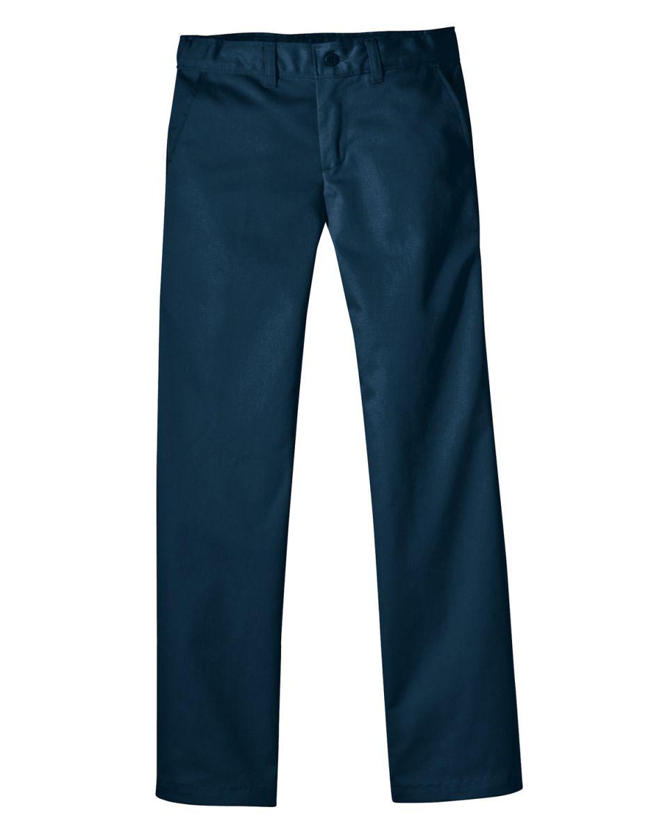 8c3cb4f4719 ... Dickies Workwear KP5518 Girl s FlexWaist Classic Fit Straight-Leg Twill  Stretch Pant DARK NAVY ...