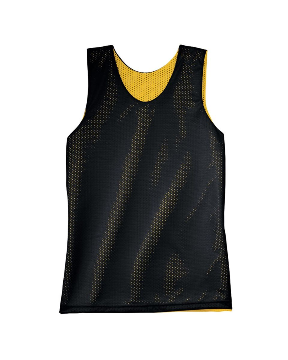 on sale ed444 1346c NF1270 A4 Adult Reversible Mesh Tank BLACK  GOLD