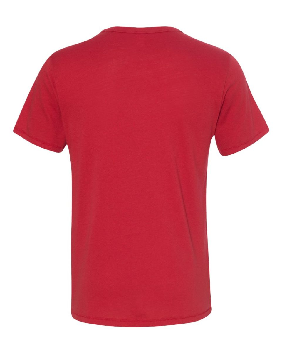 VTG Hanes Beefy-T Single Stitched T-Shirt Solid Red Blank Tee Mens Large USA