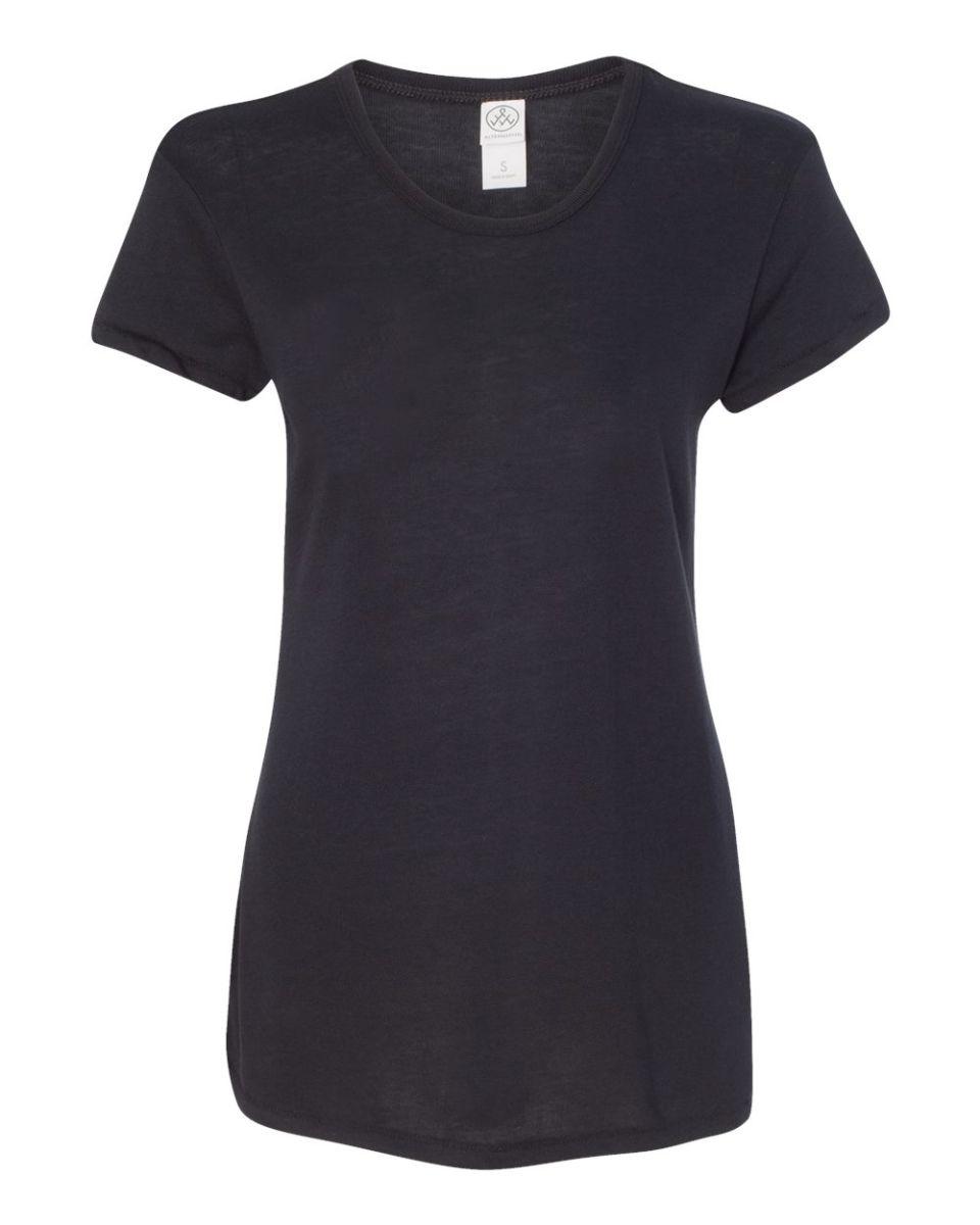 Alternative Womens Keepsake Ribbled Long Sleeve T-Shirt