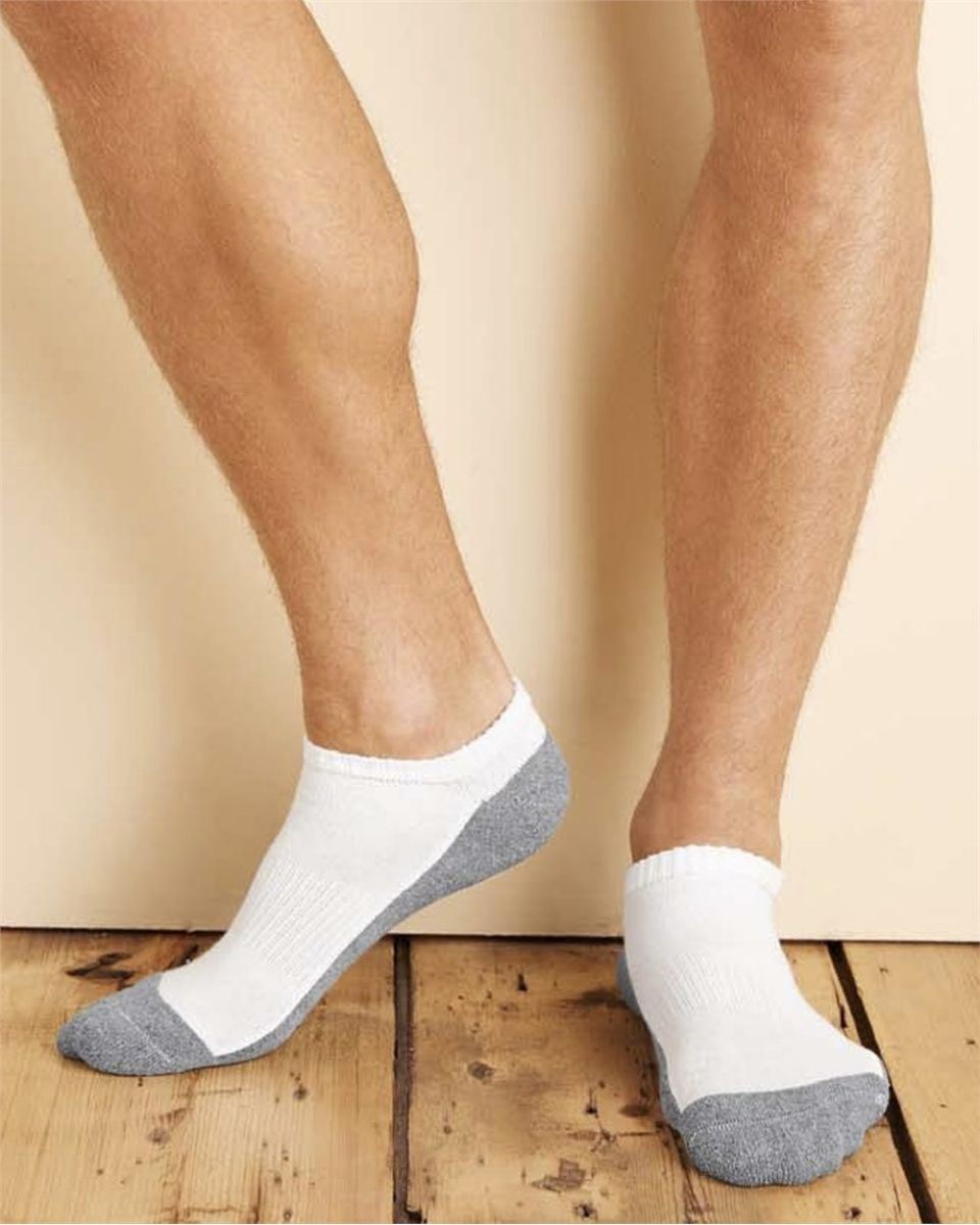 Mens Active Cool No Show Socks 6-12 US Shoe Size//10-13 US Sock Size 36-Pack