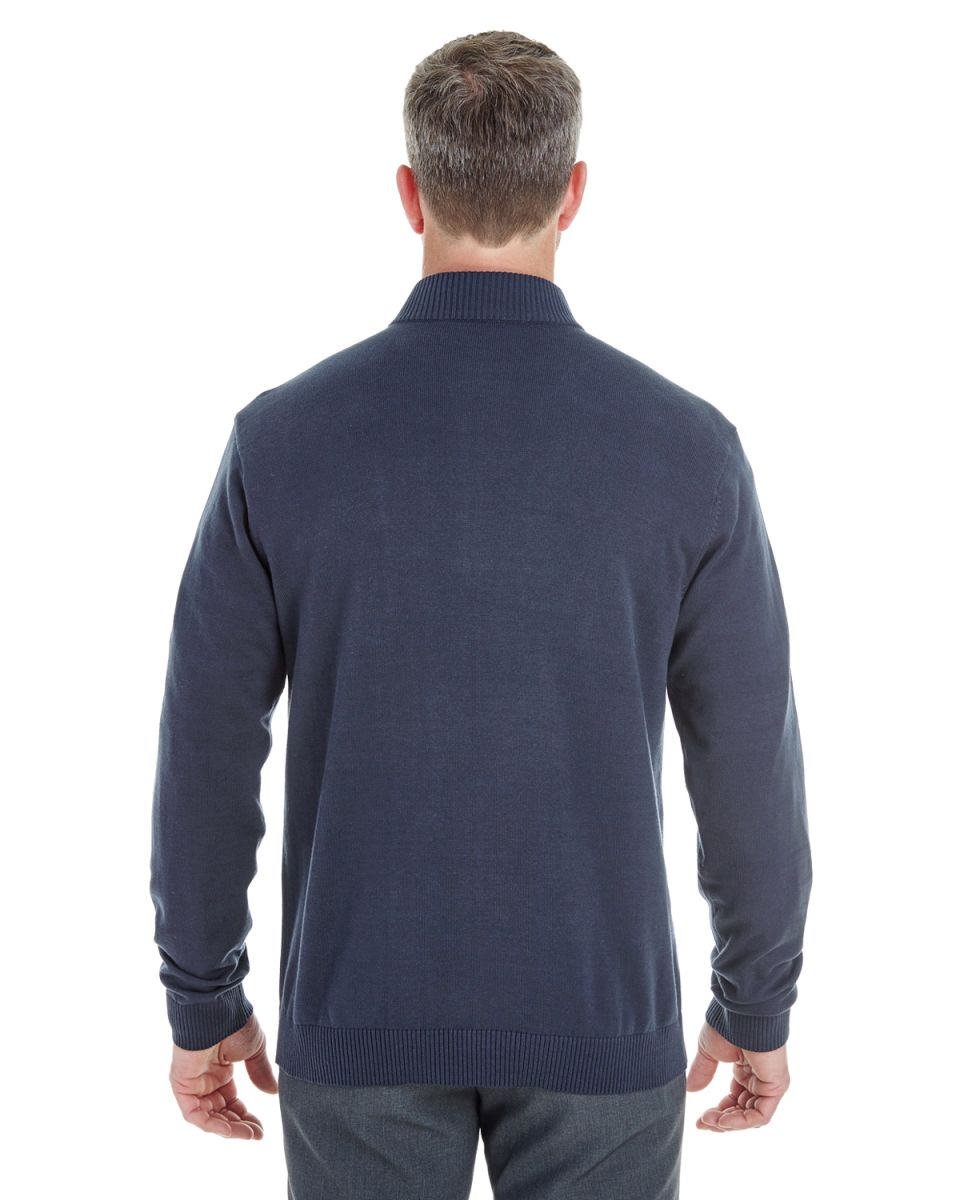 D /& Jones Womens Manchester Fully-Fashioned Full-Zip Sweater