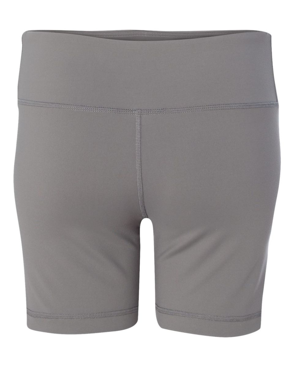 X-Small Alo Sport Ladies Dry Wicking Performance Short Sport Graphite