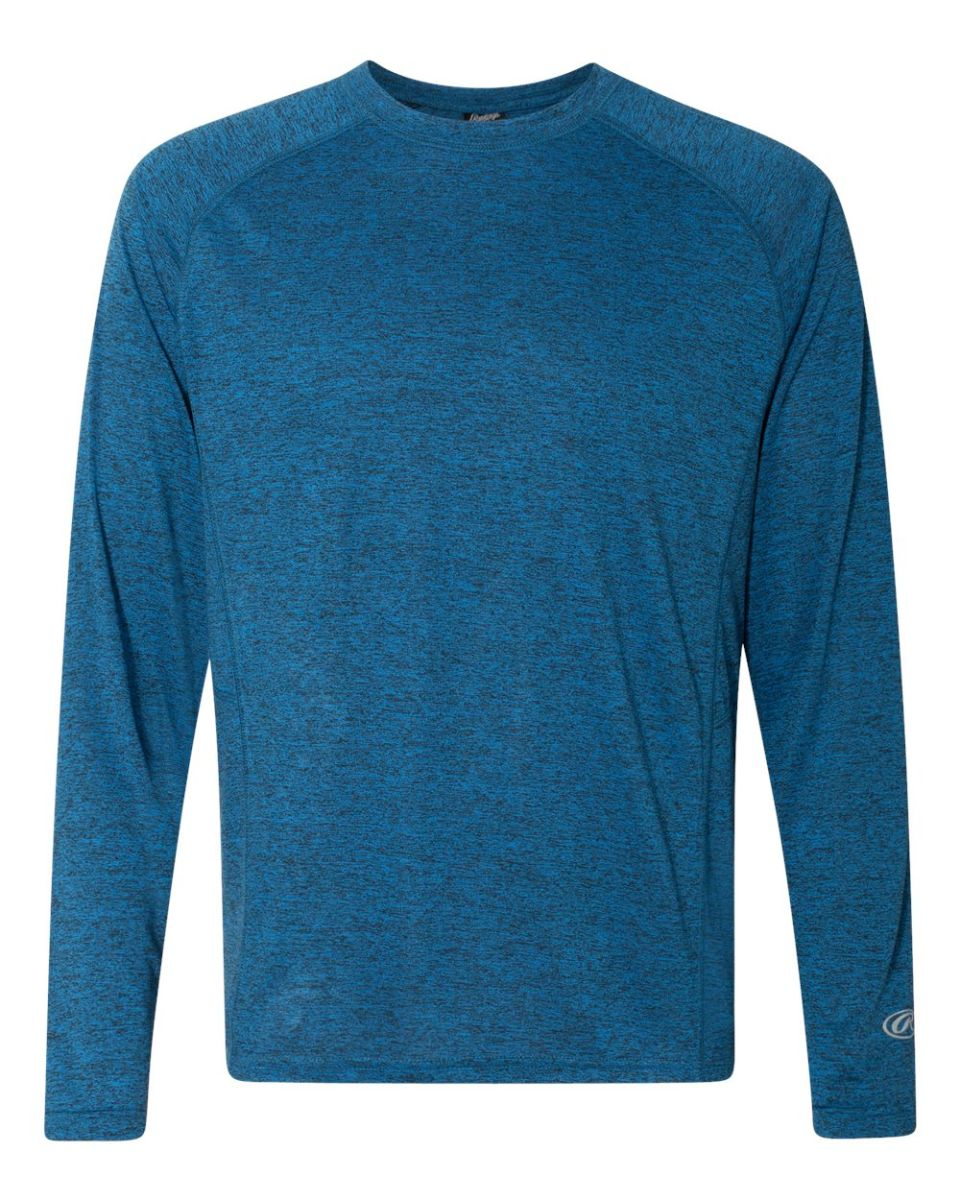 Rawlings Performance Cationic Long Sleeve T-Shirt 8191 S-3XL Polyester