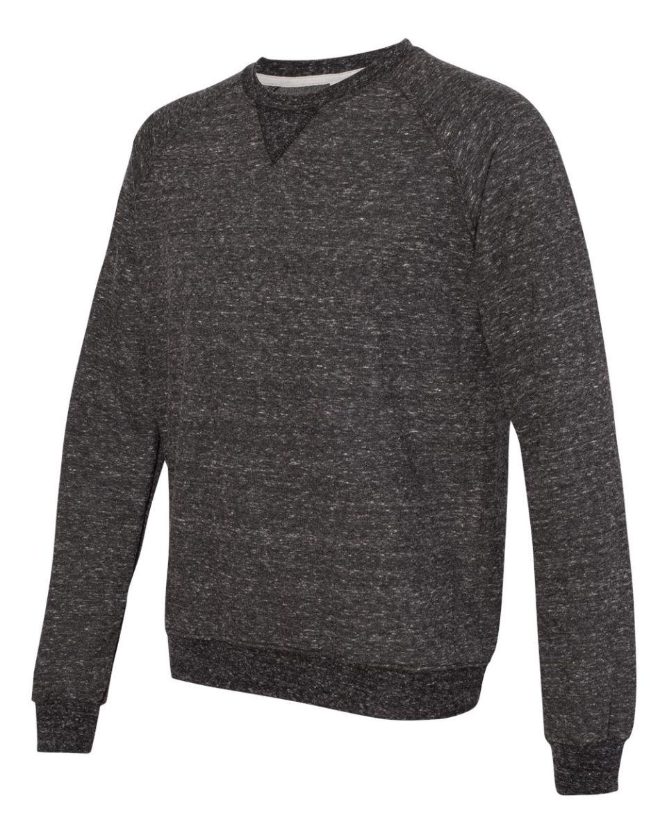 Medium Forest Green Jerzees Big Boys 1X1 Rib Collar Crewneck Sweatshirt