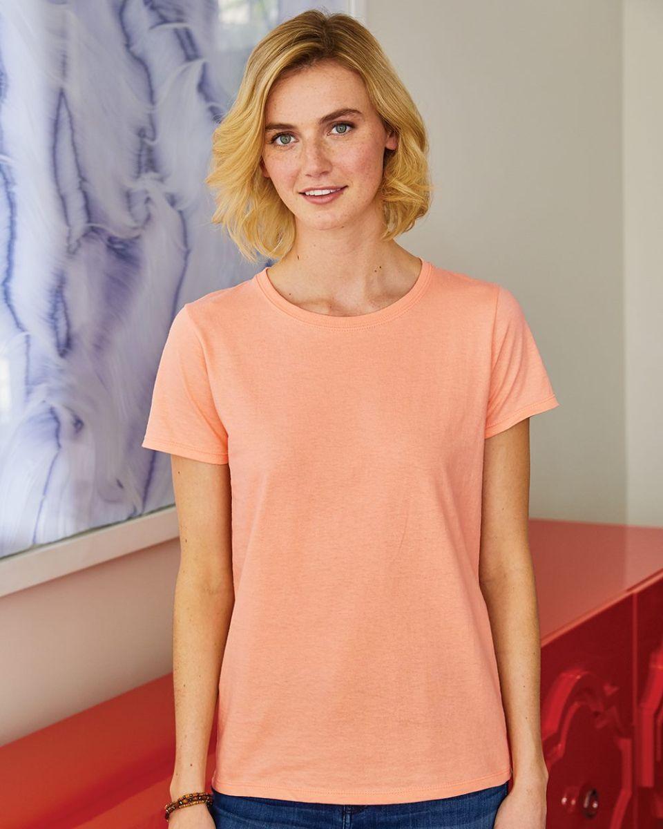 7 COLORS S-2XL Hanes Women/'s Long-Sleeve V-Neck Cotton T-Shirt Tagless