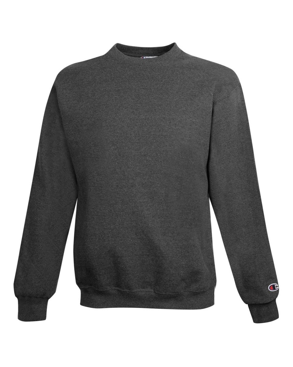 Champion Mens Double Dry Red Pullover Crew Neck Sweatshirt NWT