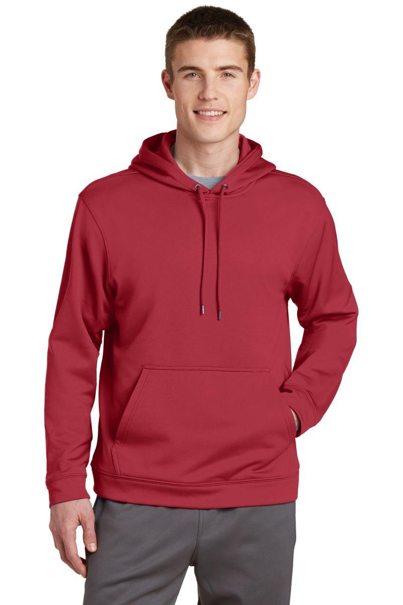 Sport Tek F244 Blankstyle Com Available in 8 colors fabric : sport tek sport wick fleece hooded pullover f244