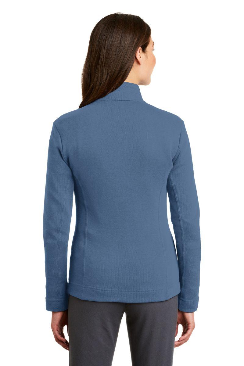 Port Authority Ladies Flatback Rib Full-Zip Jacket L221