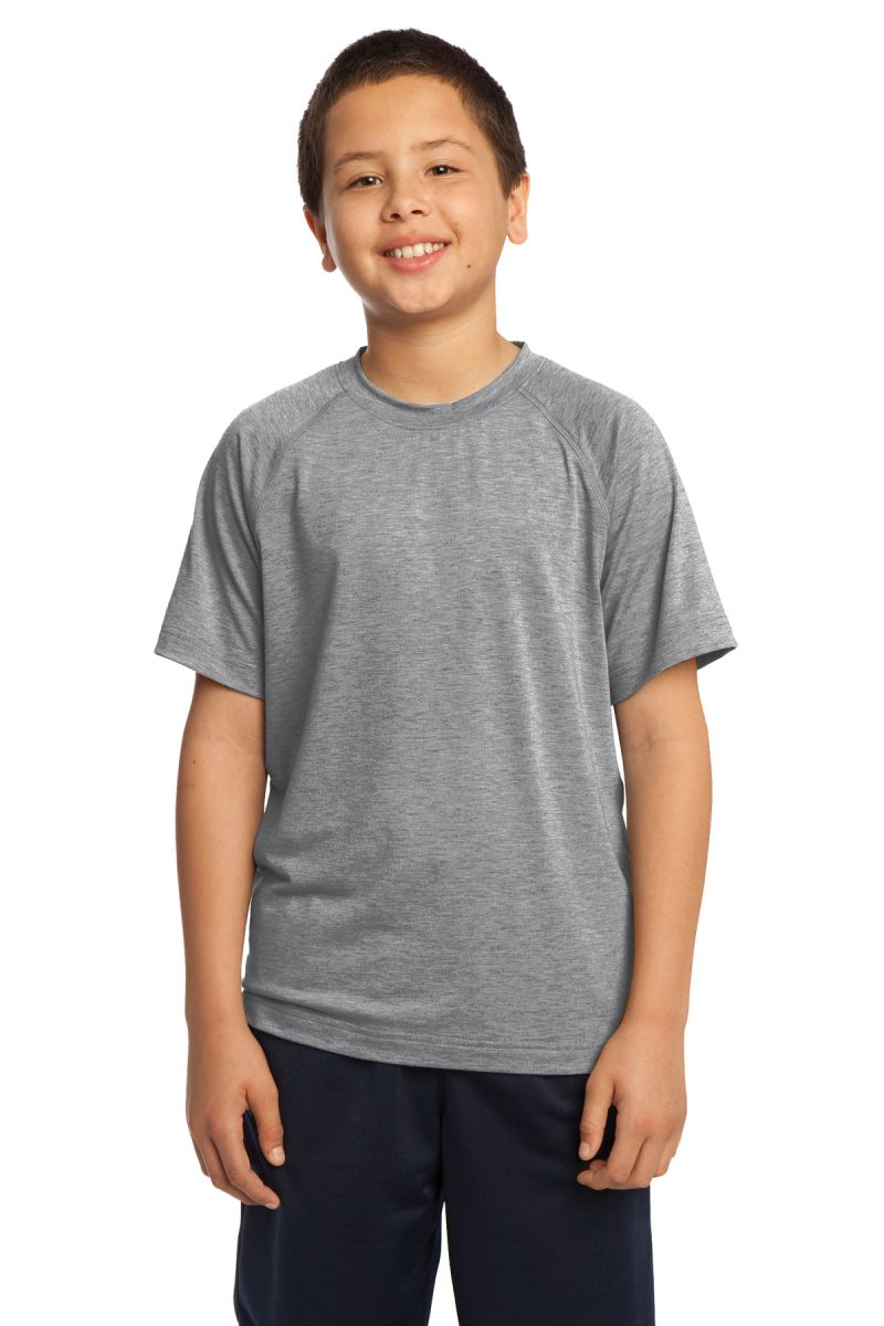 Sport-Tek Youth Loose Athletic Fit Raglan Sleeves Crewneck T-Shirt YST700