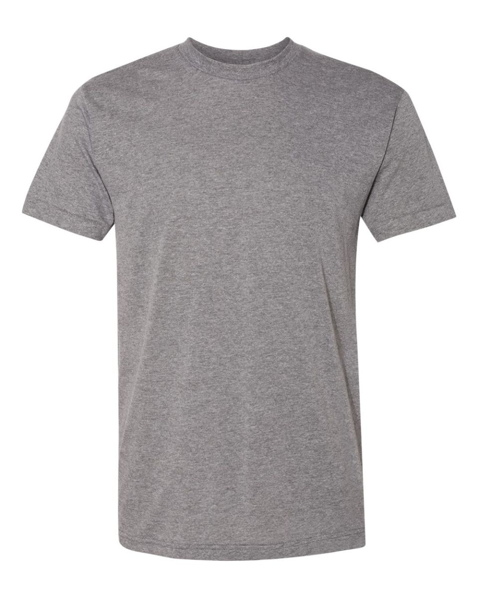 New American Apparel Gray Track T Shirt Shirt Made USA Large L Small S Medium M