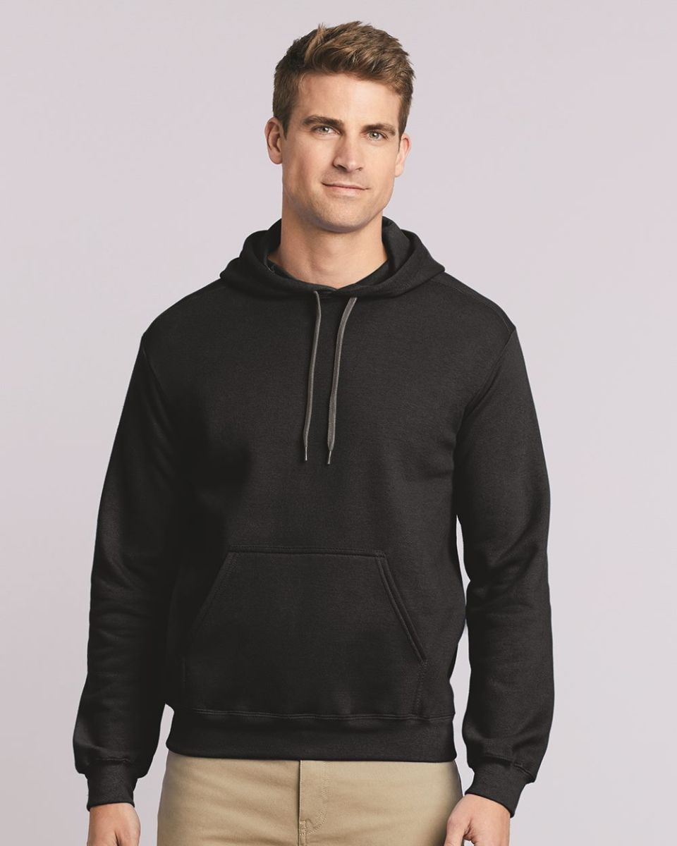 Gildan Premium Cotton Ringspun Fleece Hooded Sweatshirt 92500 Mens sizes