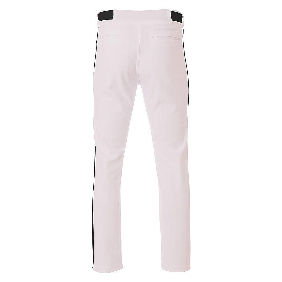A4 Men/'s Moisture Wicking Pro Style Open Bottom Baggy Cut Baseball Pant N6162