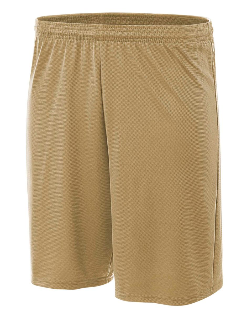 A4 Boys Cooling Performance Power Mesh Practice Short White