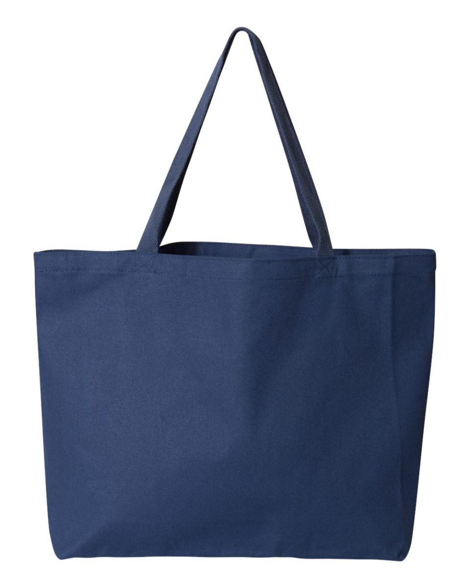 Liberty Bags 8503 12 Ounce Cotton Canvas Tote BKLYN Brooklyn Neon Tones Cotton Tote Bag
