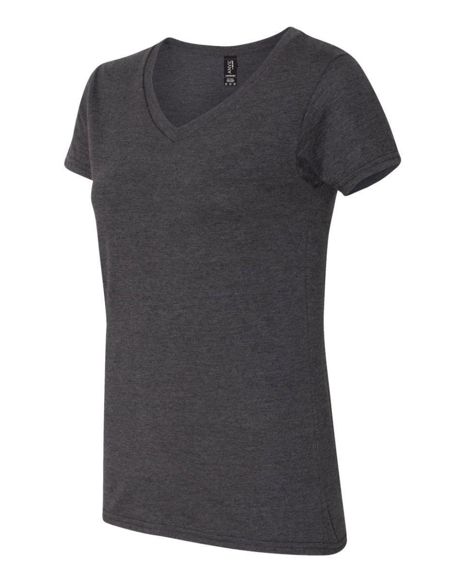 Anvil 882 L femme Missy Fit RINGSPUN débardeur t-shirt