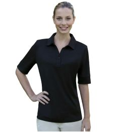 Izod 13Z0117 / Ladies' Solid Jersey Polo