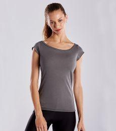 US180 US Blanks Ladies Cap Sleeve Jersey T-Shirt