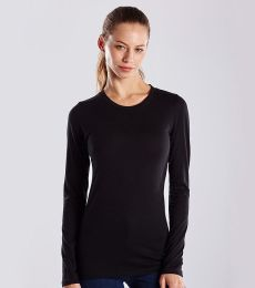 US Blanks US190 Women's Long Sleeve Tee