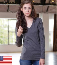 A20 In Your Face Long Sleeve Misses V-Neck