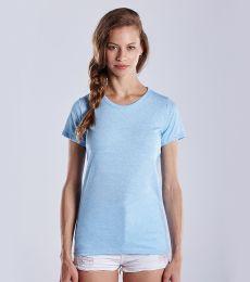 0222 US Blanks Ladies Triblend T-Shirt