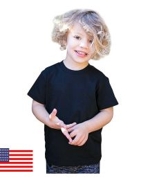 US Blanks US20001 Toddler Organic Cotton Crewneck T-Shirt