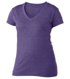 0244TC Tultex 244/Ladies' Poly-Rich Blend V-Neck Tee