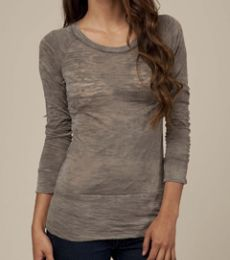 AA2694 Alternative Apparel Burnout Long-Sleeve Raglan