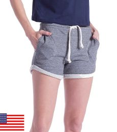 Ladies' Casual French Terry Short