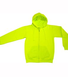 Bright Shield B501 Adult Full-Zip Fleece Hood