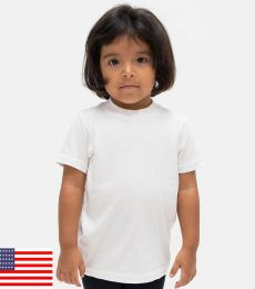 Los Angeles Apparel 21005 / Kids Fine Jersey Short Sleeve Tee 0605LO