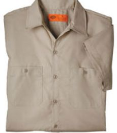 Dickies Short Sleeve Permanent Press Poplin Work Shirt