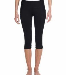 0811 Bella + Canvas Ladies' Cotton/Spandex Capri Fit Legging