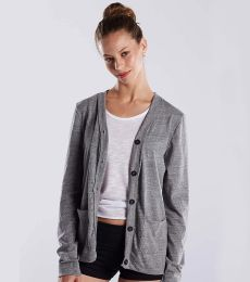 US Blanks US950 Women's Tri-Blend Cardigan