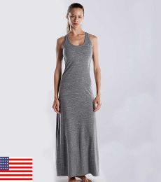 US Blanks US976 Ladies' 4.9 oz. Triblend Racerback Dress