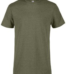 Delta 12601 Soft Spun Pepper Heather Tee