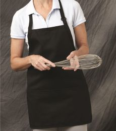 Chef Designs 1530 Short Premium Bib Apron