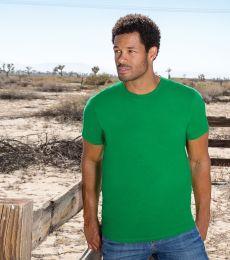 1701R Adult Ringspun Cotton T-Shirt