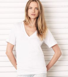 BELLA 3105 Unisex Deep V-Neck T-shirt